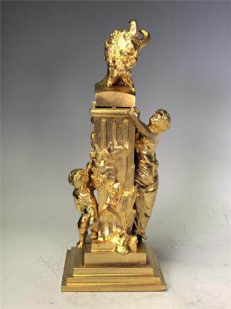 Gilt Bronze Bottle