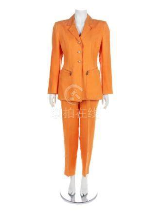 Hermes Three-Piece Suit, 1980-90s