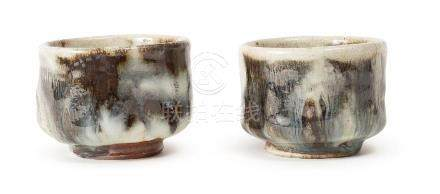 A PAIR OF TEA BOWLS BY YANG GUOBIN