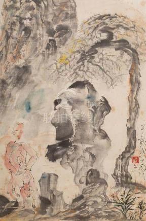 YU PENG(1955~2014), UNTITLED PAINTING