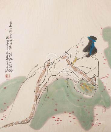 WANG XIJING(b.1946), FIGURES
