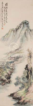 WU MEILING, LANDSCAPE PAINTING
