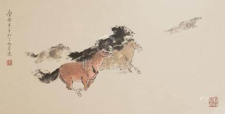 LI HUANONG, GALLOP HORSE