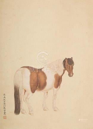 MA JIN(1900~1970), GALLANT HORSE