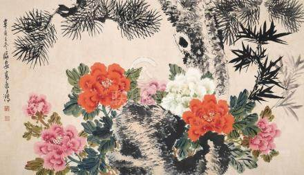 GAO YIHONG, FLOWER BLOSSOM