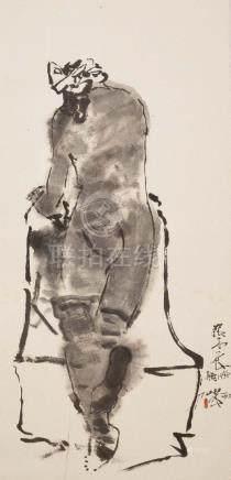 ZHANG MUYANG(1933~2000), THE SIGHT OF BACK