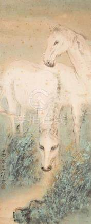 YANG SHANSHEN, HORSE COUPLE