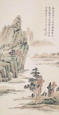 PU JIN(1893~1966), LANDSCAPE PAINTING