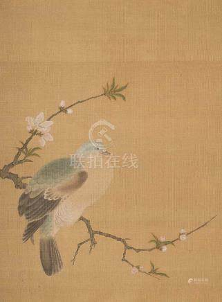 IMITATED PAINTING OF THE TURTLEDOVE PAINTING OF SONG