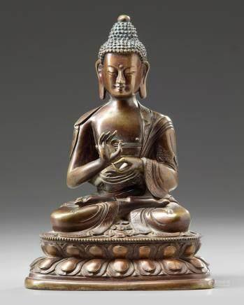 A  Chinese figure of Buddha