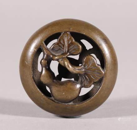 清代 龙纹铜件