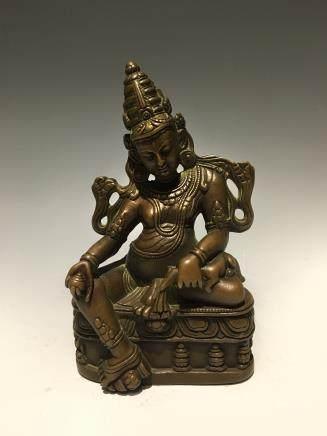 十五世纪铜铸黄财神