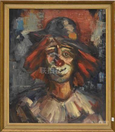 Huile sur toile signée Dany (60 x 50cm)