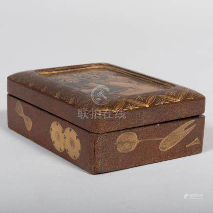 Small Japanese Lacquer Box