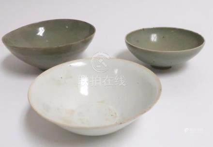 Three Chinese Bowls