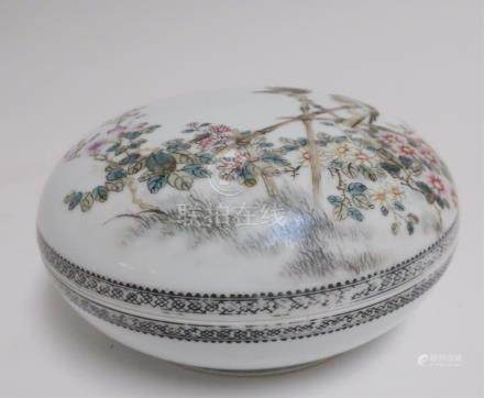 Chinese Porcelain Lidded Box