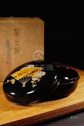 19th 蒔繪菓子器