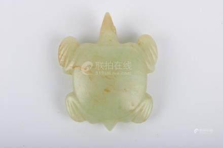 Chinese White Jade Turtle