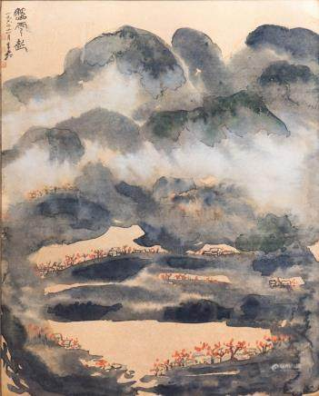 JIANG QINGSHUANG (20TH CENTURY), SPLASH INK