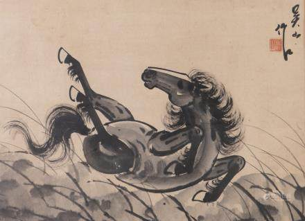 WU SHAN (EARLY 20TH CENTURY), HORSE
