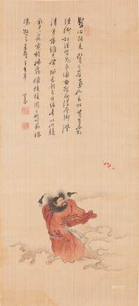 PU RU (ATTRIBUTED TO, 1896-1963), ZHONG KUI
