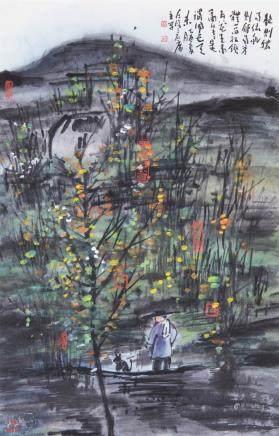 ZENG MI (1935 - ), LANDSCAPE