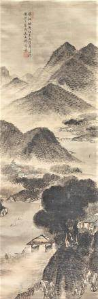 WU SHIXIAN (QING DYNASTY), LANDSCAPE