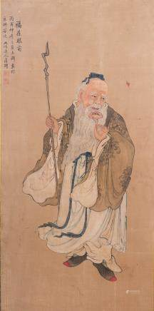 LUO PING (ATTRIBUTED TO, 1733-1799), SHOU LAO