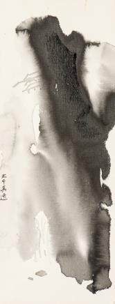 ZHANG DAQIAN (1899-1983), A CHINESE LANDSCAPE PAINTING OF INK