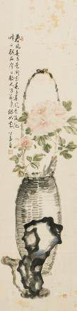 ANONYMOUS, A CHINESE PAINTING OF PEONY