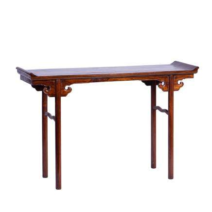 A HUANGHUALI PAINTING TABLE
