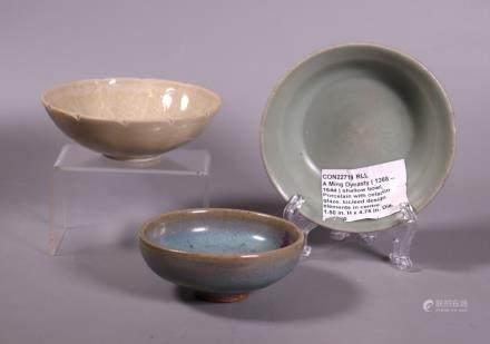 Chinese Porcelain Bowls: Dingyao, Junyao, Longquan