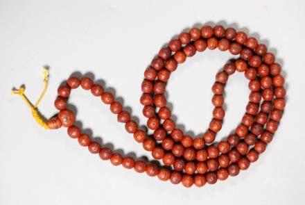 Chinese Buddhist Bodhi Beads; 85.4G