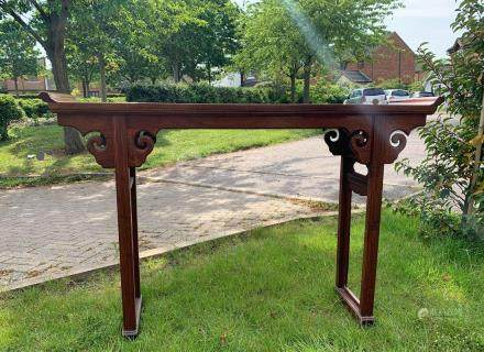 A Very Fine Chinese Huanghuali Wood LongTable