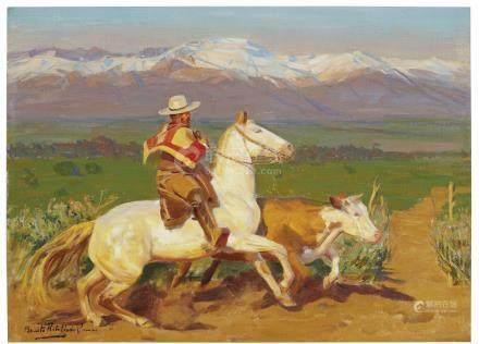 Benito Rebolledo Correa (Chilean, 1881-1964)