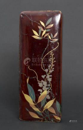 Lackdose / A lacquer box, China um 1930