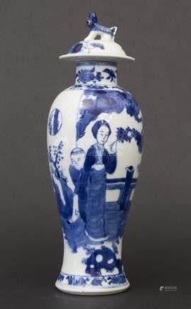 Deckelvase, Kangxi-Periode, China