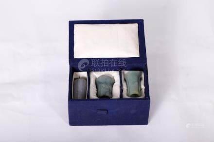Chinese Hard Jade Cigarette Holder