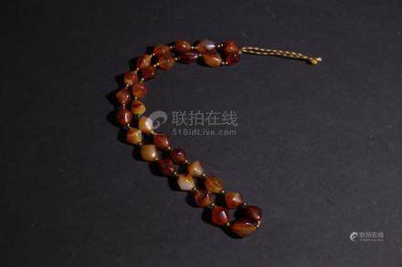Chinese String of Agate