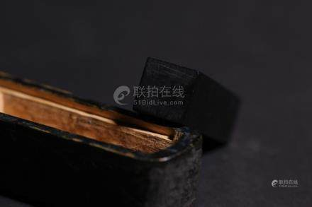Chinese Wood and Stone Seal