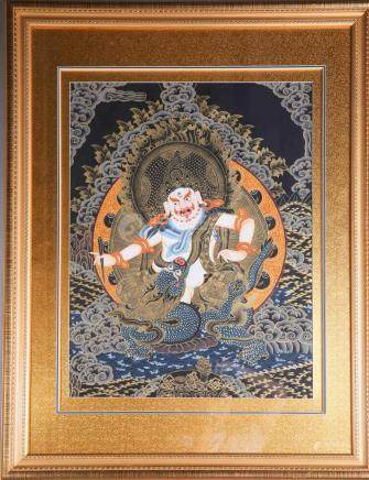 Chinese Thangka Painting