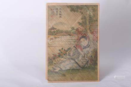 Chinese Painting on Bamboo