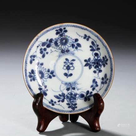 Chinese Blue and White Dish, Sotheby's
