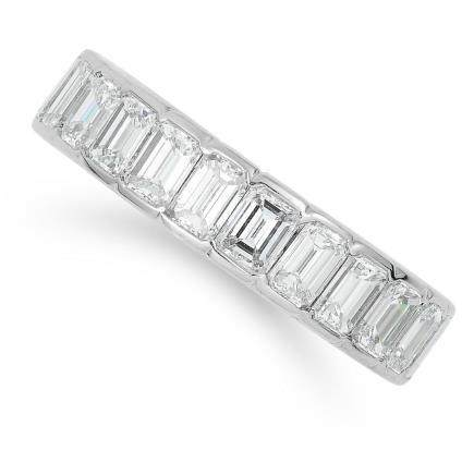 4.00 CARAT DIAMOND ETERNITY BAND in 18ct white gold or