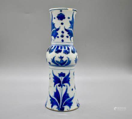A Jiajing Period Blue and White Vase