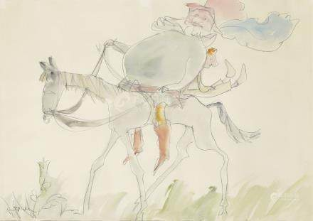 Sir Quentin Blake (British, b. 1932)
