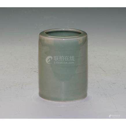 Celadon Brush Pot
