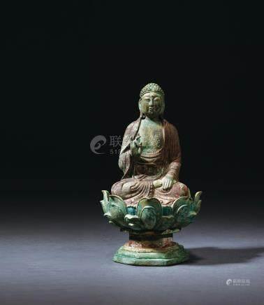 辽 铜释迦牟尼坐像