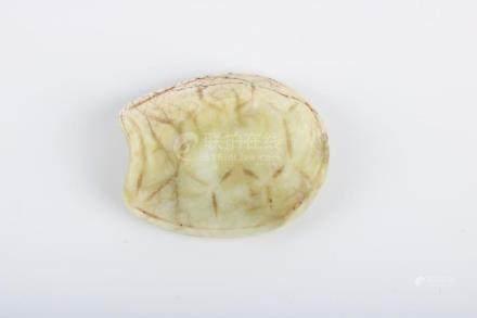 Chinese Republic Of China Period Jade Turtle Pendant