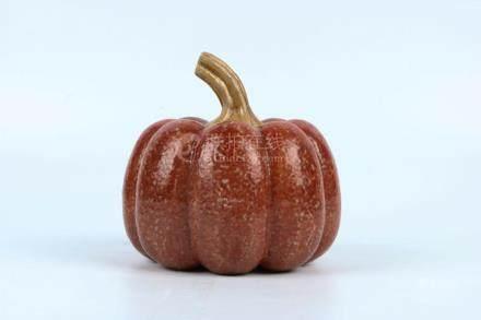 Chinese Porcelain Pumpkin